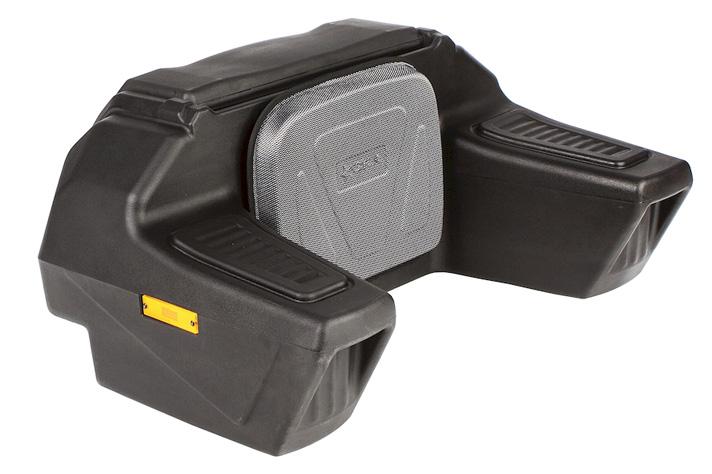 wasserdicht Universal ATV Quad Koffer für 3 Helme Topcase Quadkoffer Staubox